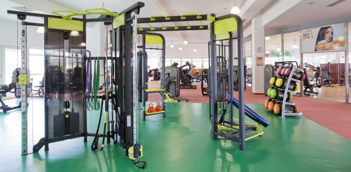 Functional Zone im MYGYM Fitnessstudio
